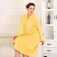 Robe de Banho Amarelo,Sólido Alta qualidade 1.0 Toalha