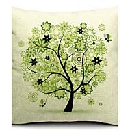 algodão bela árvore primavera / linho fronha decorativo