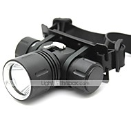 Lights Headlamps / Diving Flashlights/Torch LED 1000 Lumens 4 Mode Cree XM-L T6 18650Adjustable Focus / Waterproof / Rechargeable /