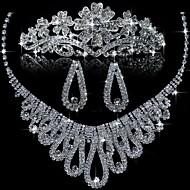 Women's Alloy Jewelry Set Crystal/Rhinestone