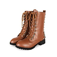 Women's Chunky Heel Round Toe Boots (More Colors)