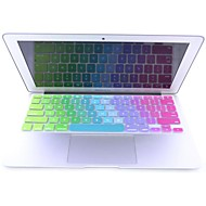 coosbo ® Colorful Silikon Tangentbord Skinn för Apple Mac Macbook Air Pro / Retina G6 13 15 17 US Version Layout