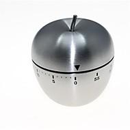 Apfel geformt Edelstahl mechanische Twist-Timer (60-Minuten)