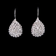 Women's Silvering Rhinestone Earrings