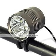 Osvětlení Světla na kolo 5000 Lumenů Režim Cree XM-L T6 18650 Dobíjecí / Odolný proti nárazům / Strike BezelKempování a turistika /