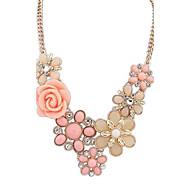 todo fósforo rosa collar de moda (más colores)
