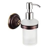 浴室の付属品は真鍮ソープディスペンサーオイルは青銅をこすり