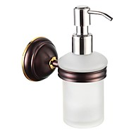 badkamer accessoires massief messing zeepdispenser olie gewreven brons
