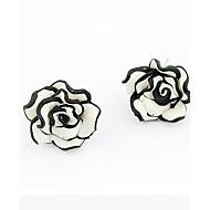 de nye stilfulle og elegante nydelige roser øredobber