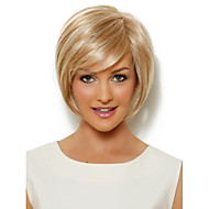 Gold Synthetic Straight Attractive Women's Short Wig
