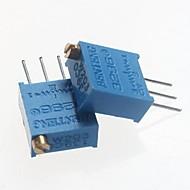3296 potenciometr 20kOhm nastavitelné odpory - modrá (10 ks)