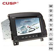 Höcker ® 6.2-Zoll-Auto-DVD-Player 2din für Hyundai Sonata nf yu xiang 2006-2013 Unterstützung GPS, BT, RDS, Spiel, ipod