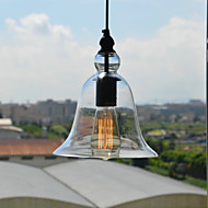 Max 60W Traditional/Classic / Vintage / Bowl Mini Style / Bulb Included Pendant Lights Living Room / Dining Room