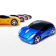 2,4 GHz-es vezeték nélküli szuper autó minta optikai egér (vegyes színek)