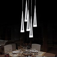 Max 5W Pendant Light ,  Modern/Contemporary Chrome Feature for LED Metal Living Room / Bedroom / Dining Room / Kitchen