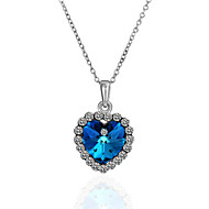 Women's Alloy Necklace With Crystal/Rhinestone