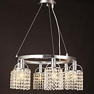 Max 40W Tiffany Cristal Autres Métal Lampe suspendue Salle de séjour