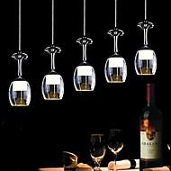 lightmyself® moderne restaurant vedhæng lys 5 lys akryl 85v-240v