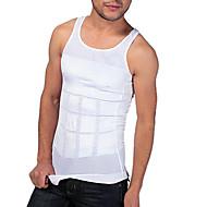 남자 셰이퍼 슬리밍 탱크 조끼 꽉 속옷 허리 복부 통기성 스포츠 에디션 흰색 ny082 그리기