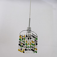 Mini Alfa Strass cristal One Light Pendant