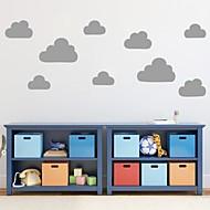 casa nuvem decoração da parede adesivos de parede decalque jiubai ™