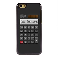 Personalized Gift Calculator Design Metal Case for iPhone 5C