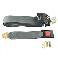 carking ™ säädettävä auton turvavyötä kierros kolmen pisteen turvavyö-harmaa