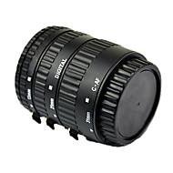 צינור הארכת מאקרו פוקוס אוטומטי עבור Canon EOS EF-S EF עם אלומיניום אפוי לכה שחור הר