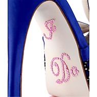 """I DO"" Crystal Acrylic Shoe Sticker (More Colors)"