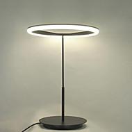 moderna lampada da tavolo design semplice mini led ring con vista di protezione