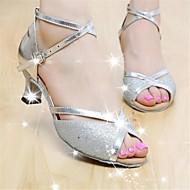 라틴어 맞춤형 여성 샌들 사용자 정의 뒤꿈치 쇳조각의 buckie 댄스 신발 (더 많은 색상)