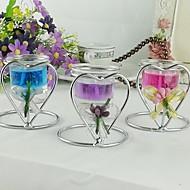 bryllup dekor hjerte form stearinlys holder flere farger (1 stk / mye)