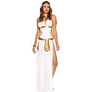 Gorgeous Ancient Egyptian Queen Cleopatra Golden And Black Terylene Halloween Costume