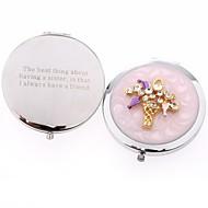 regalos del día de los amigos regalos personalizados cesta de flores cosmética espejo de San Valentín