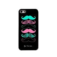 εξατομικευμένο δώρο δροσερό μουστάκι σχεδιασμού μεταλλική θήκη για το iphone 5 / 5s