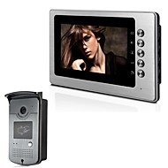 """xinyuanyang® XYY-V70B-ID 7"""" TFT Color Video Door Phone System with Wheatherproof Cover  Camera and ID Card"""