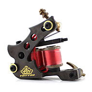 Coil Tattoo Machine Professiona Tattoo Machines Brass Shader Carved