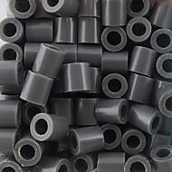 ca. 500 stuks / zak 5mm grijs zekering kralen hama kralen diy puzzel eva materiaal safty voor kinderen ambachtelijke