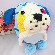 dětská móda žolík krásný teplý štěně chrániče uší klobouk