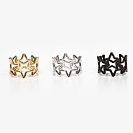Women's Alloy Ring With Star