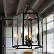 MAX 40W Pendant Light ,  Traditional/Classic Country Vintage Retro Lantern Painting Feature for Mini Style MetalLiving Room Bedroom