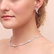 Conjunto de joyas Zirconia Cúbica Zirconia Cúbica De mujeres
