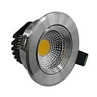 5W תאורת תקרה מובנה 1 COB 500-550 lm לבן חם / לבן קר עמעום AC 220-240 V