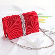 Women Silk Wedding Evening Bag Gold / Red / Black / Fuchsia