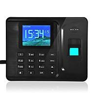 Realand a-F261 huella digital la asistencia tiempo rfid + dedo + contraseña carneros software