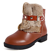 Støvler ( Sort/Brun/Rød ) - GIRL - Snestøvler
