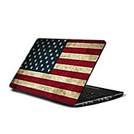 "US Flag C024 Pattern Laptop Protective Skin Sticker For 10""/15.6"" Laptop (15.6"" suitable for below 15.6"")"