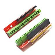 šroub štítu rozšiřující v2 Svorkovnice pro Arduino - červený (2 ks)