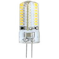 3W G4 Lâmpadas Espiga / Luminárias de LED  Duplo-Pin T 64 SMD 3014 360 lm Branco Quente AC 100-240 V