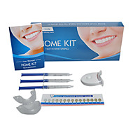 dentes não peróxido de branqueamento kits com mini-levou luz